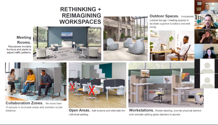 Changes in Workplace Design Now and Post-COVID: A webinar to guide your next steps